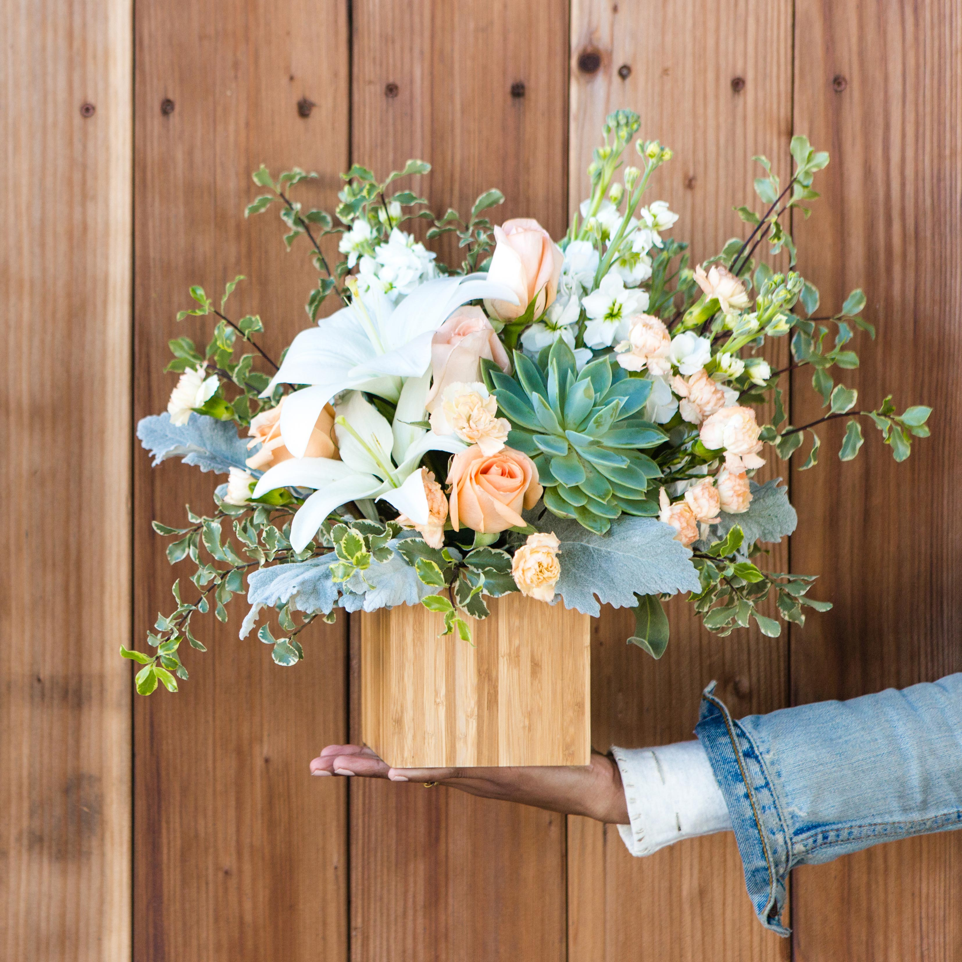 How to revive wilting in floral bouquets teleflora blog telefloras desert sunrise bouquet izmirmasajfo