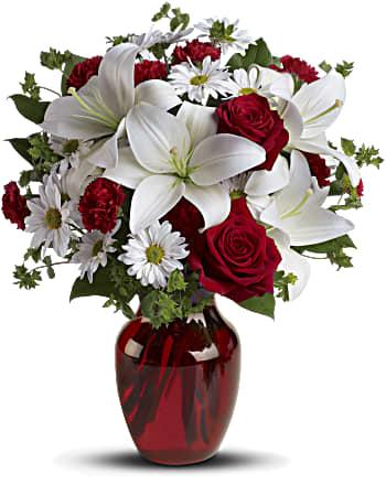Sois mon amour avec roses rouges