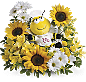 Teleflora's Bee Well Bouquet DX Flowers