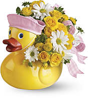 Ducky Delight - Girl Flowers