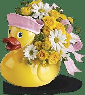Ducky Delight - Girl Flowers