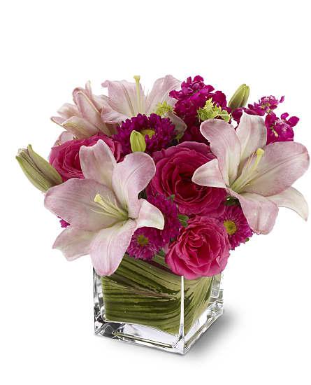 Posh Pinks Flowers Posh Pinks Flower Bouquet
