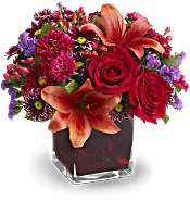 Teleflora's Autumn Grace Flowers