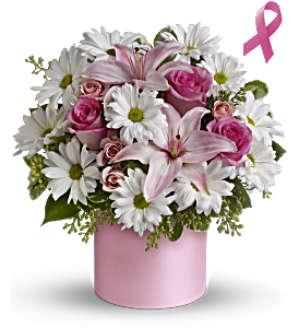 Teleflora's Pink Hope and Courage Bouquet, picture