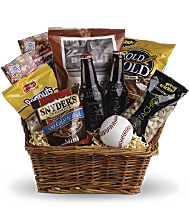 Take Me Out to the Ballgame Basket, picture
