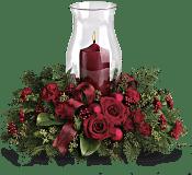 Holiday Glow Centrepiece Flowers