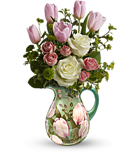 Teleflora's Spring Pitcher Bouquet, picture