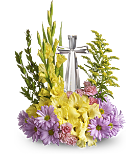 Teleflora's Crystal Cross Bouquet, picture
