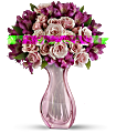 Teleflora's Pink Fire Bouquet Flowers