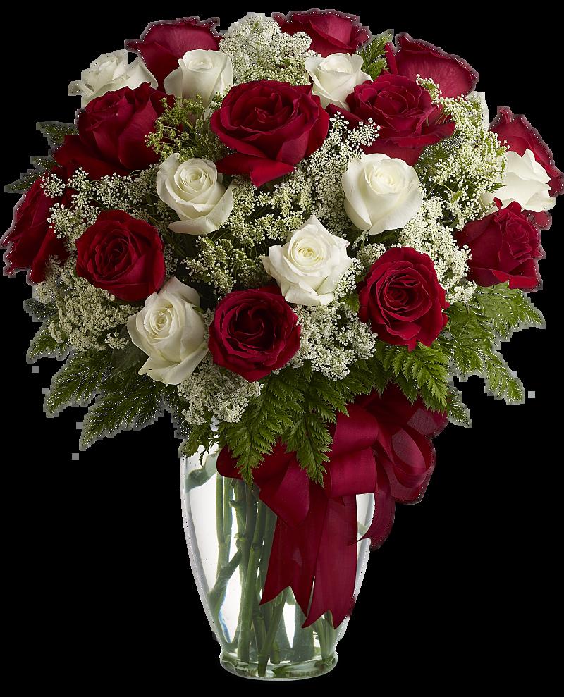 Love\'s Divine Bouquet - Long Stemmed Roses Flowers, Love\'s Divine ...