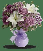 Precious in Purple Flowers