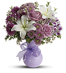Teleflora's Precious in Purple, picture