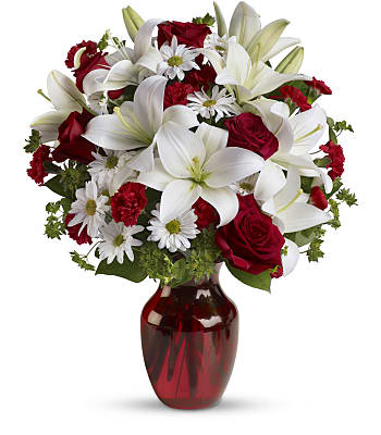 Be My Love Bouquet with Red Roses Flowers