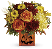 Halloween Glow Flowers