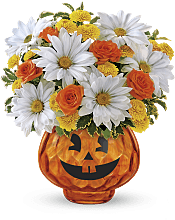 Happy Halloween  Flowers