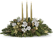 Royal Christmas Centerpiece Flowers