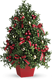 Deck The Halls Tree Flowers
