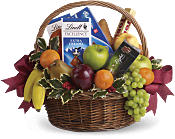 Fruits and Sweets Christmas  Gift Basket