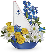 Captain Carefree Bouquet Flowers