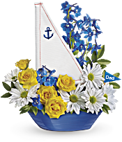 Teleflora's Captain Carefree Bouquet Flowers