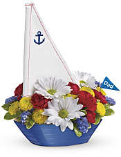 Anchors Aweigh Bouquet Flowers