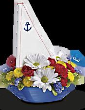 Teleflora's Anchors Aweigh Bouquet Flowers