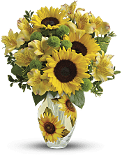 Soak Up The Sun Bouquet Flowers