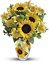Teleflora's Soak Up The Sun Bouquet Flowers