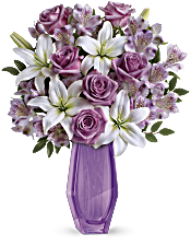 Teleflora's Lavender Beauty Bouquet Flowers