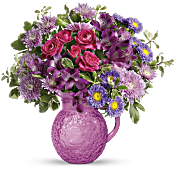 Teleflora's Pretty As A Pitcher Bouquet Flowers