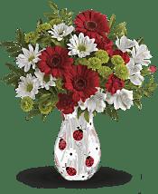 Lovely Ladybug Bouquet Flowers