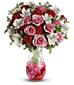 Rosy Posy Bouquet Flowers