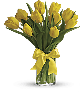 Sunny Yellow Tulips, picture
