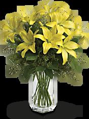 Teleflora's Lily Sunshine Flowers