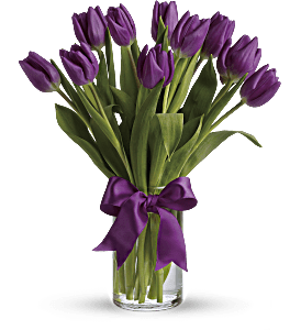 Passionate Purple Tulips, picture