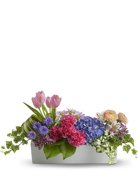 Charmant Garden Party Centerpiece Flowers ...