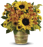 Grand Sunshine Bouquet Flowers