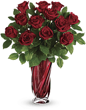 Red Radiance Bouquet Flowers