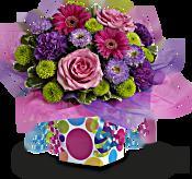 Teleflora's Confetti Present Flowers