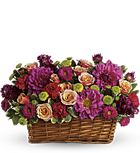 Burst of Beauty Basket, picture
