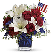 America The Beautiful  Flowers