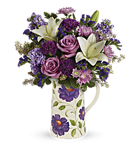 Teleflora's Garden Pitcher Bouquet, picture