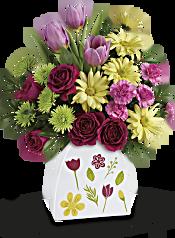Teleflora's Make Their Daisies Bouquet Flowers