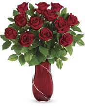 Wrapped In Roses Bouquet Flowers