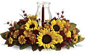 Sunflower Centrepiece Flowers
