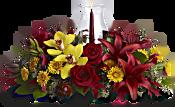 Glow of Gratitude Centerpiece Flowers