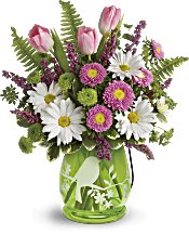Teleflora's Songs Of Spring Bouquet Flowers