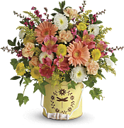 Country Spring Bouquet Flowers