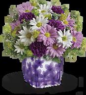 Dancing Violets Bouquet Flowers