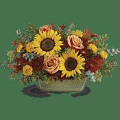 Sunflower Farm Centerpiece Flowers
